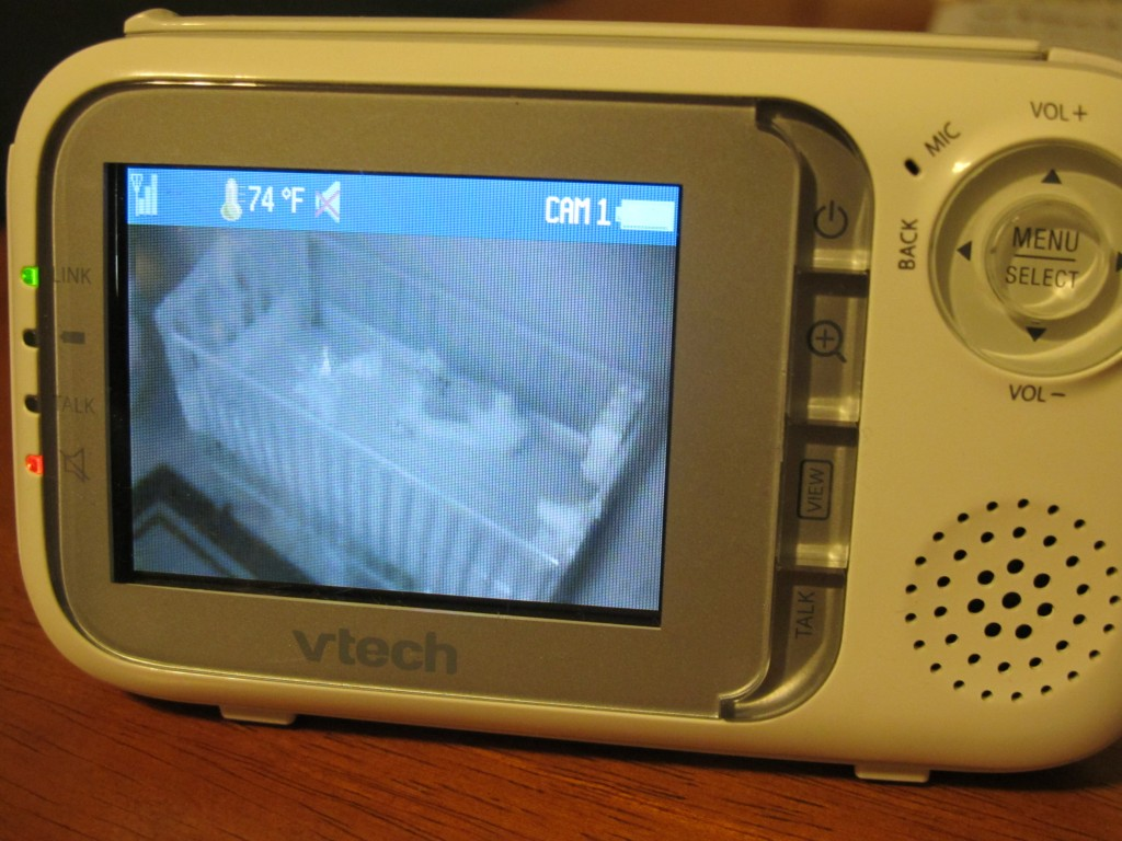 feel secure with the vtech safe sound audio and video baby monitor. Black Bedroom Furniture Sets. Home Design Ideas