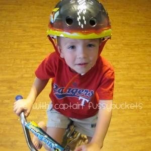 always wear your helmet!