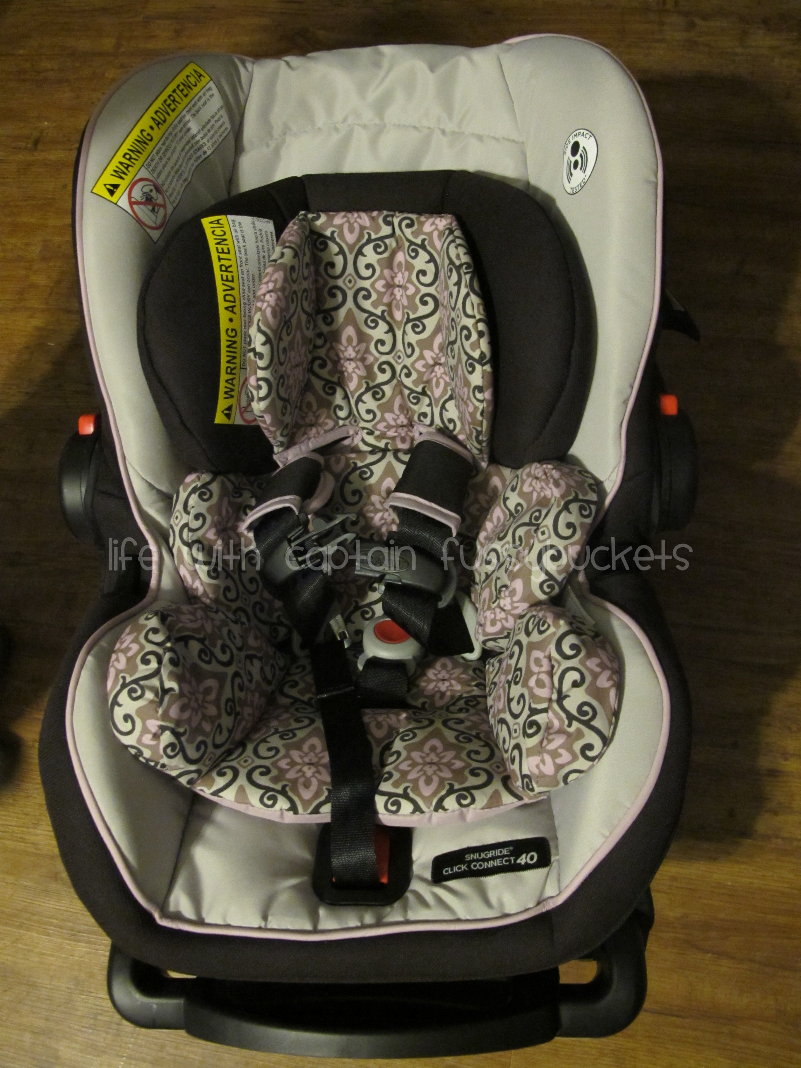 Graco SnugRide Click Connect 40 Carseat To Review GracoSafety