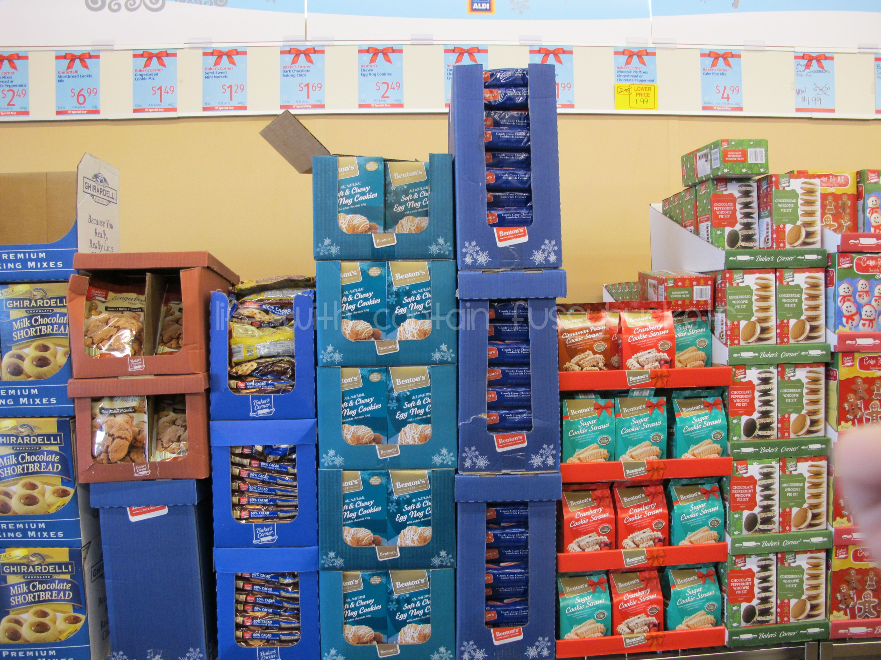 Shop Aldi For Your Holiday Grocery Items