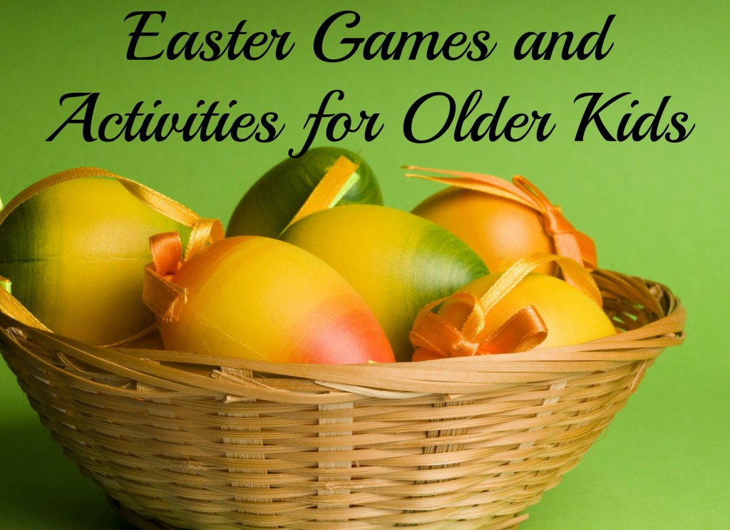 Easter games and activities for older kids