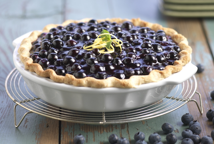 Happy National Blueberry Pie Day!