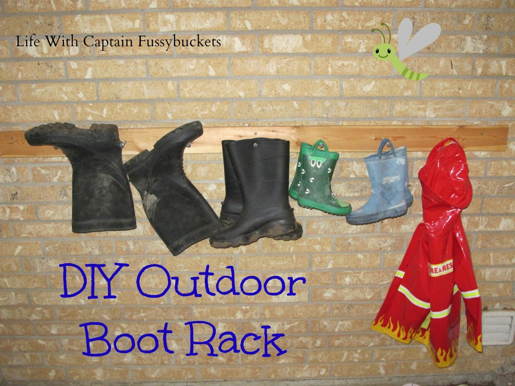 outdoor boot rack