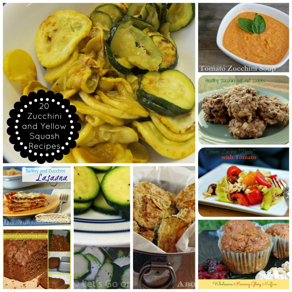 Twenty Zucchini and Yellow Squash Recipes