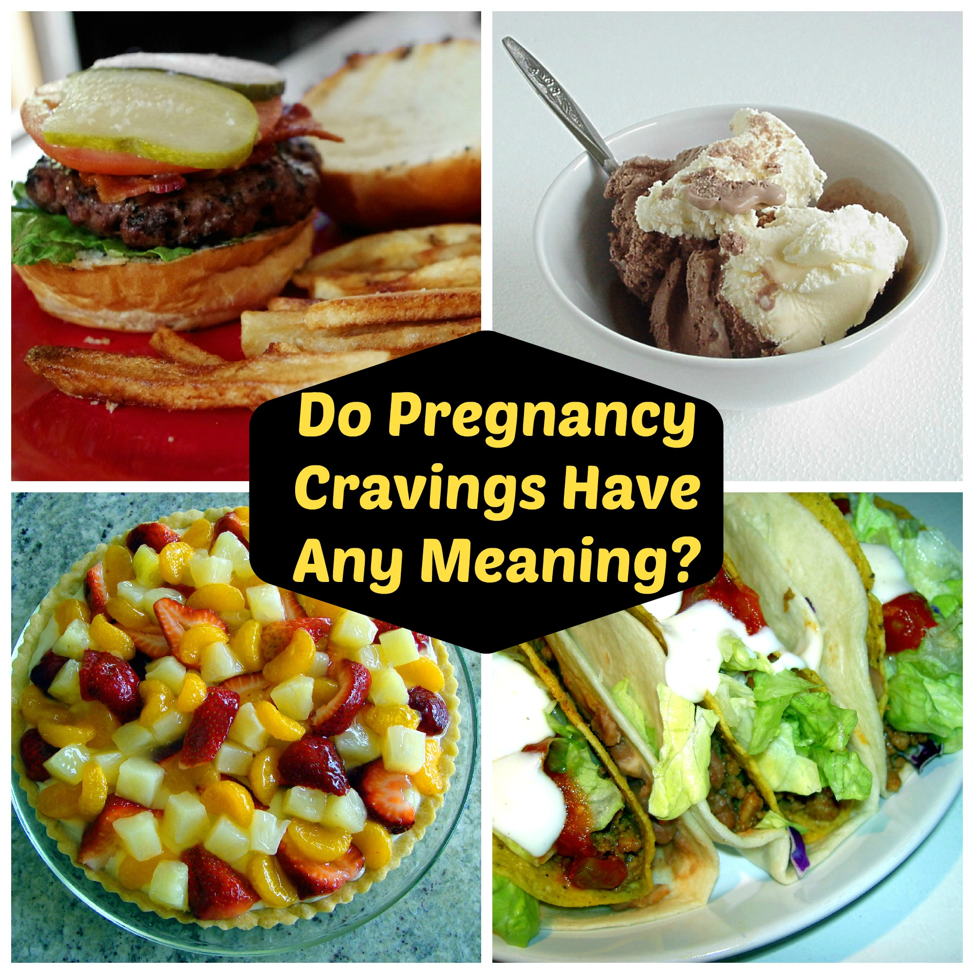 Do pregnancy cravingshave any meaning
