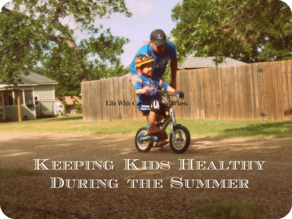 how to keep kids healthy during the summer