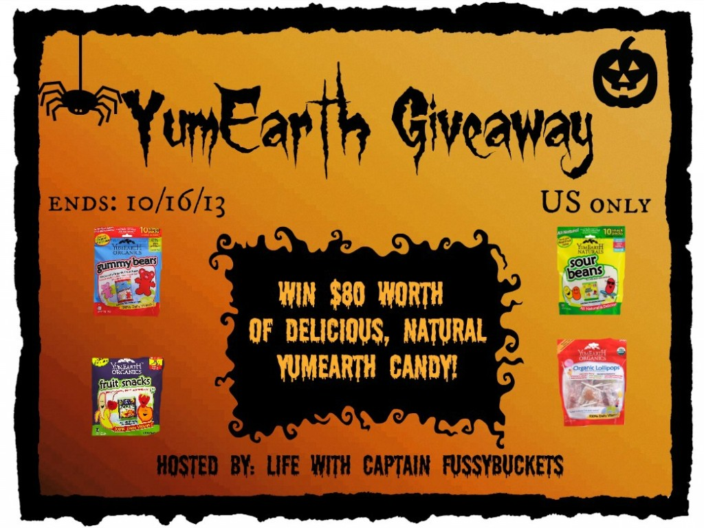 YumEarth candy Halloween Giveaway