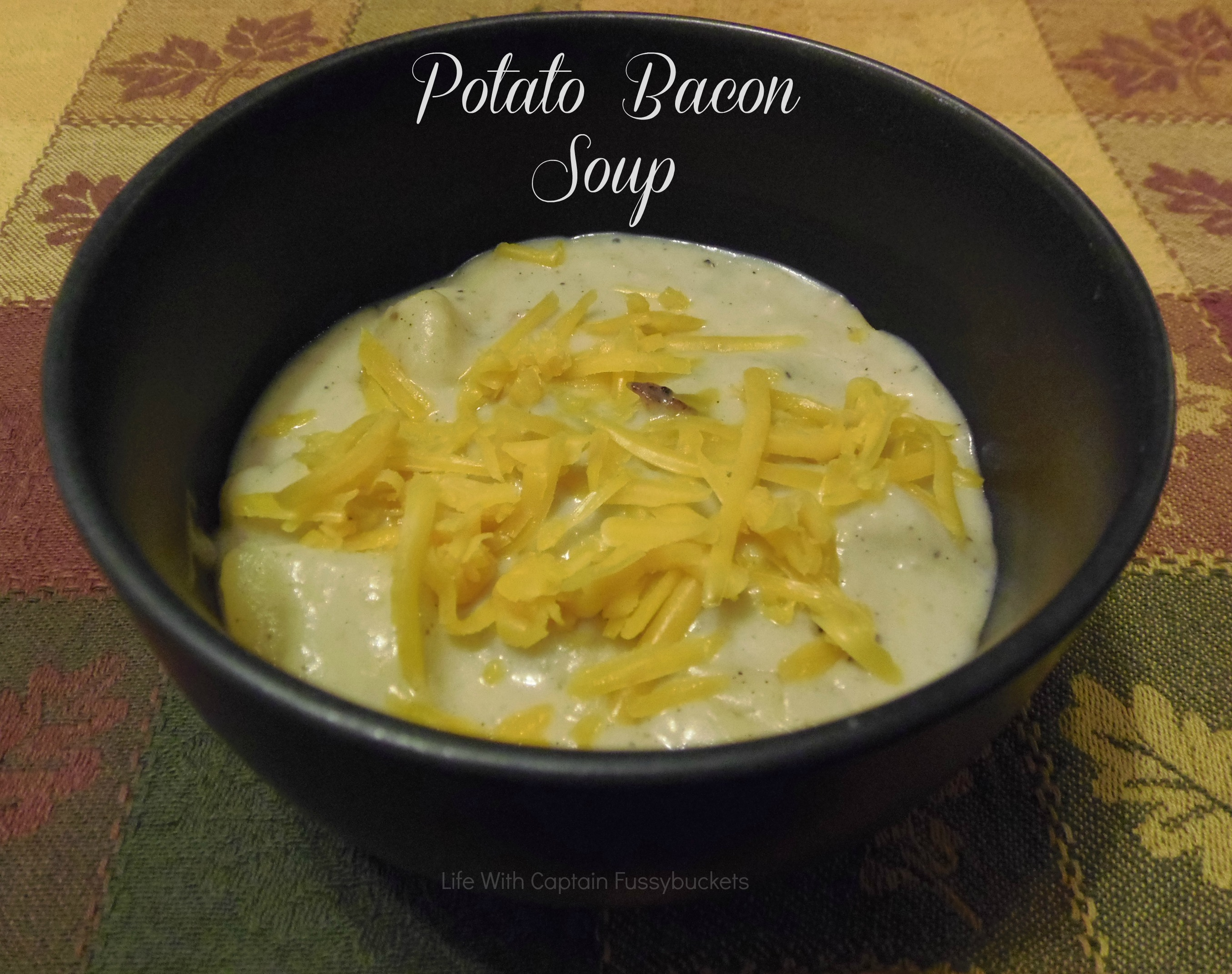 The Fancy Dinner {and a Potato Bacon Soup Recipe!}