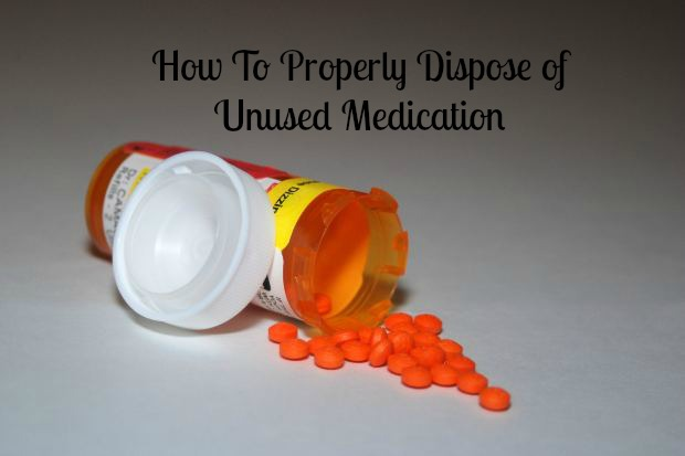 dispose of unused medication