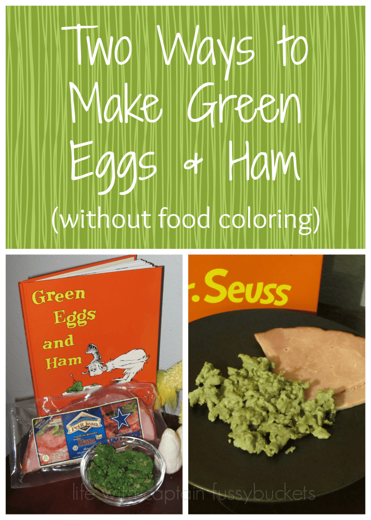 how to make green eggs without food coloring