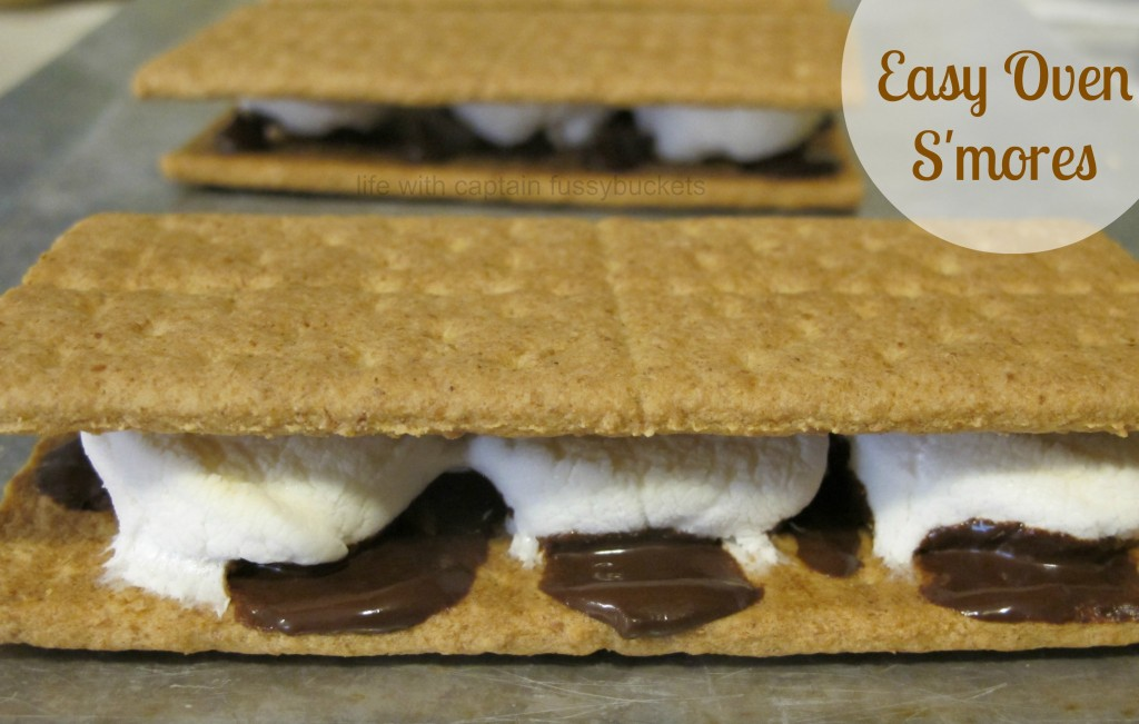 Easy Oven S'mores - Life With Captain Fussybuckets