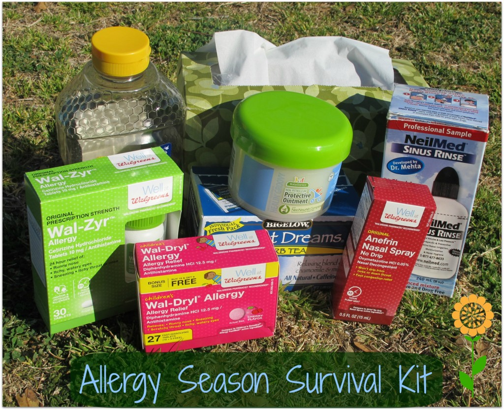 Allergy Season Survival Kit #shop #CollectiveBias