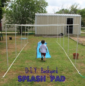 DIY Splash Pad