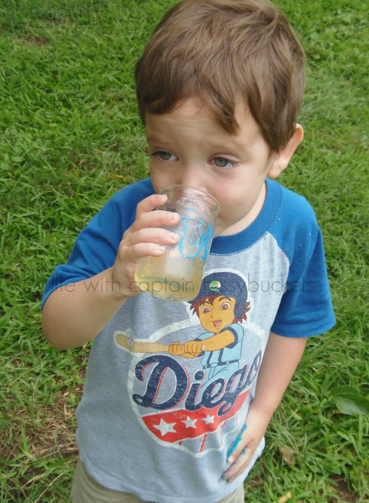DIY Drinking Glass for Kids using Repurposed Glass Jars