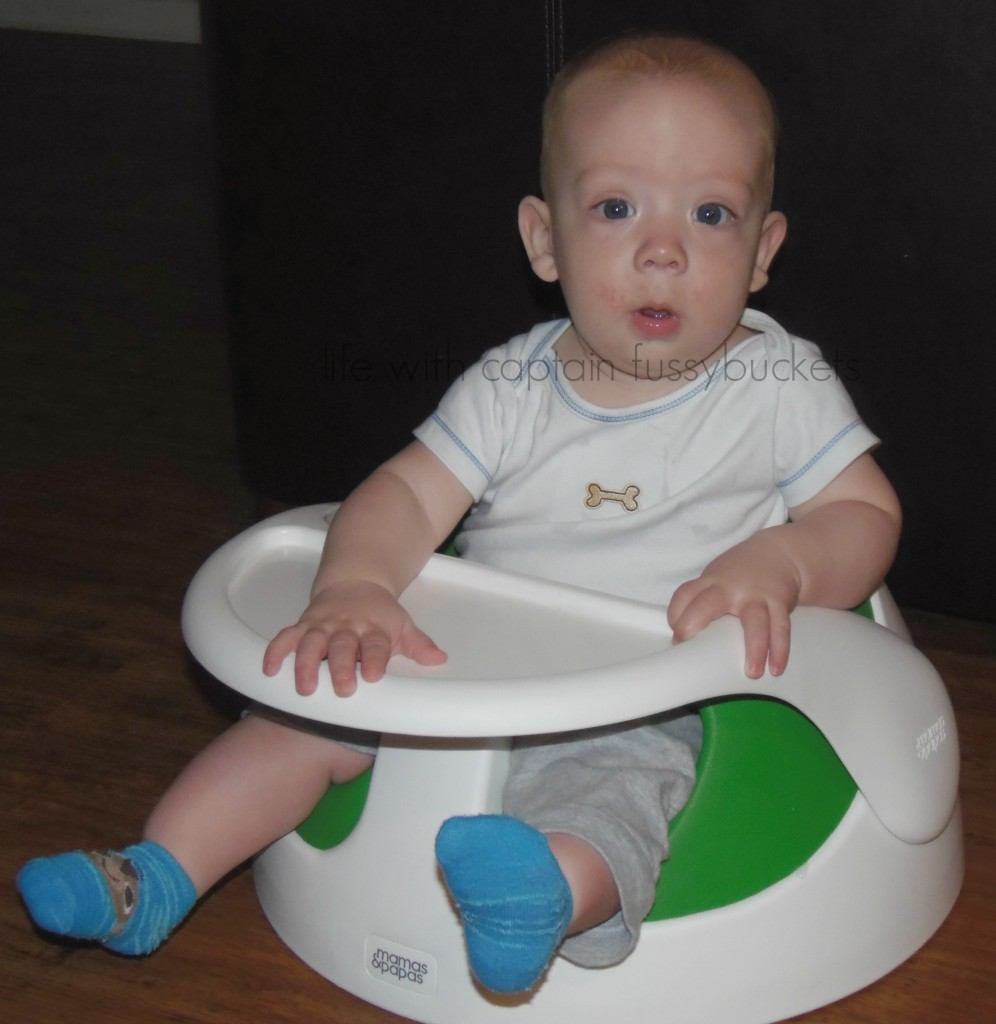 Finally - A Baby Seat That Can Be Used For A Long Time! #ad @CptFussybuckets @MamasandPapasUS