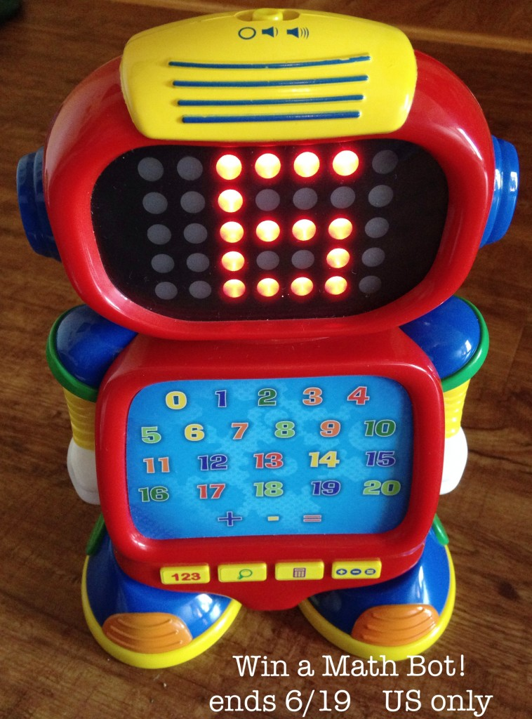 Win a Math Bot from The Learning Journey International!