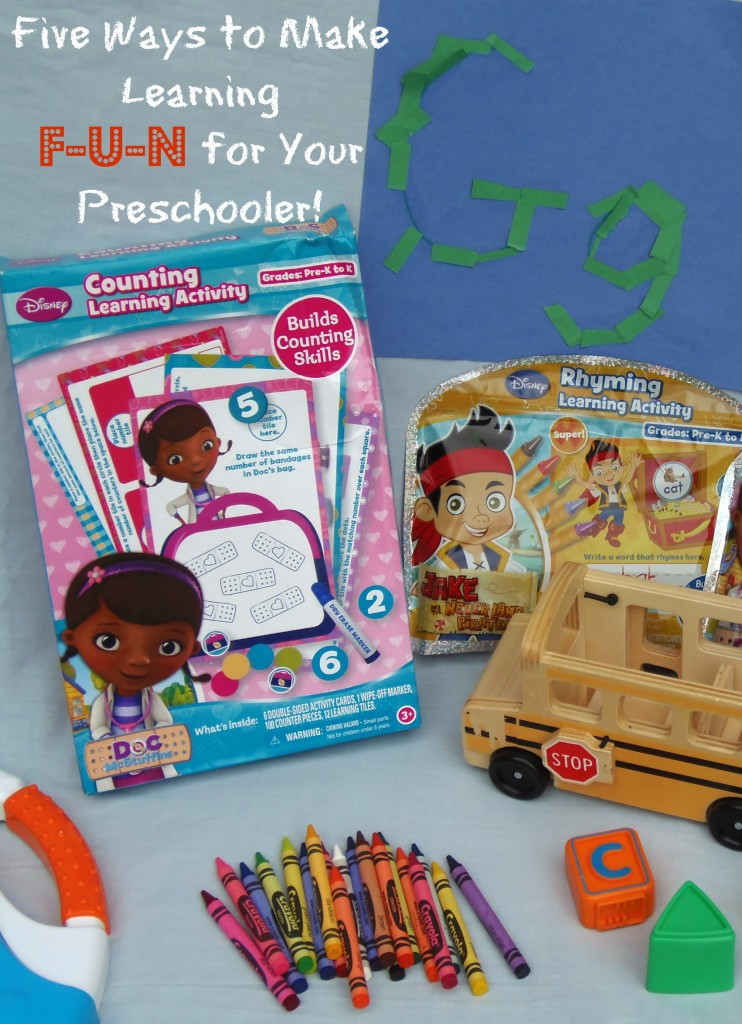 Make Learning Fun for your Preschooler