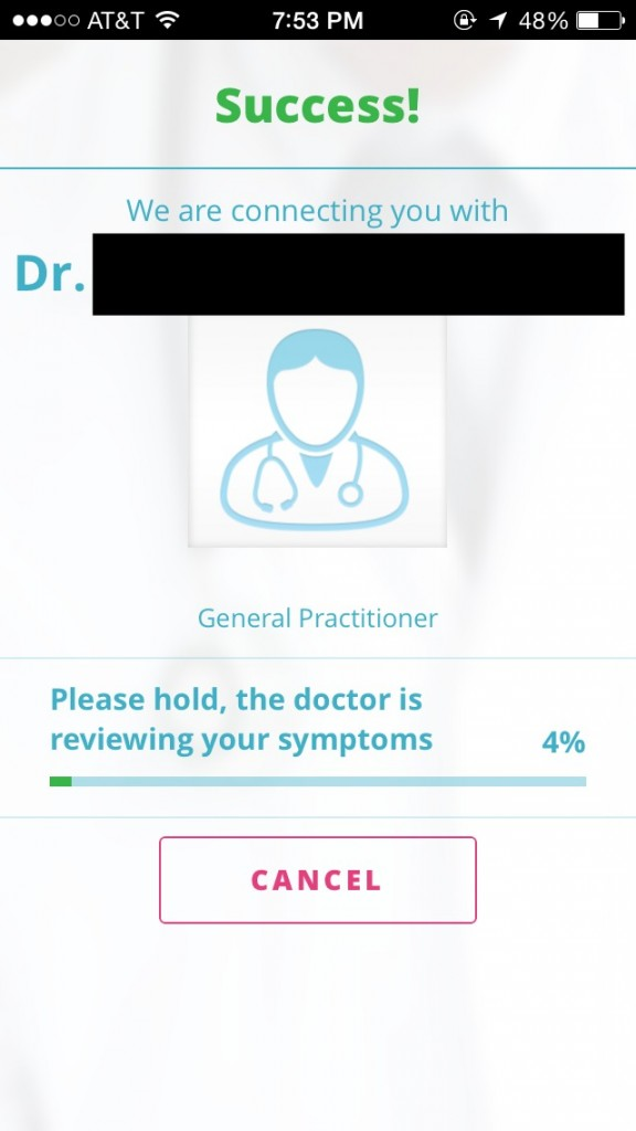 Doctor on Demand app