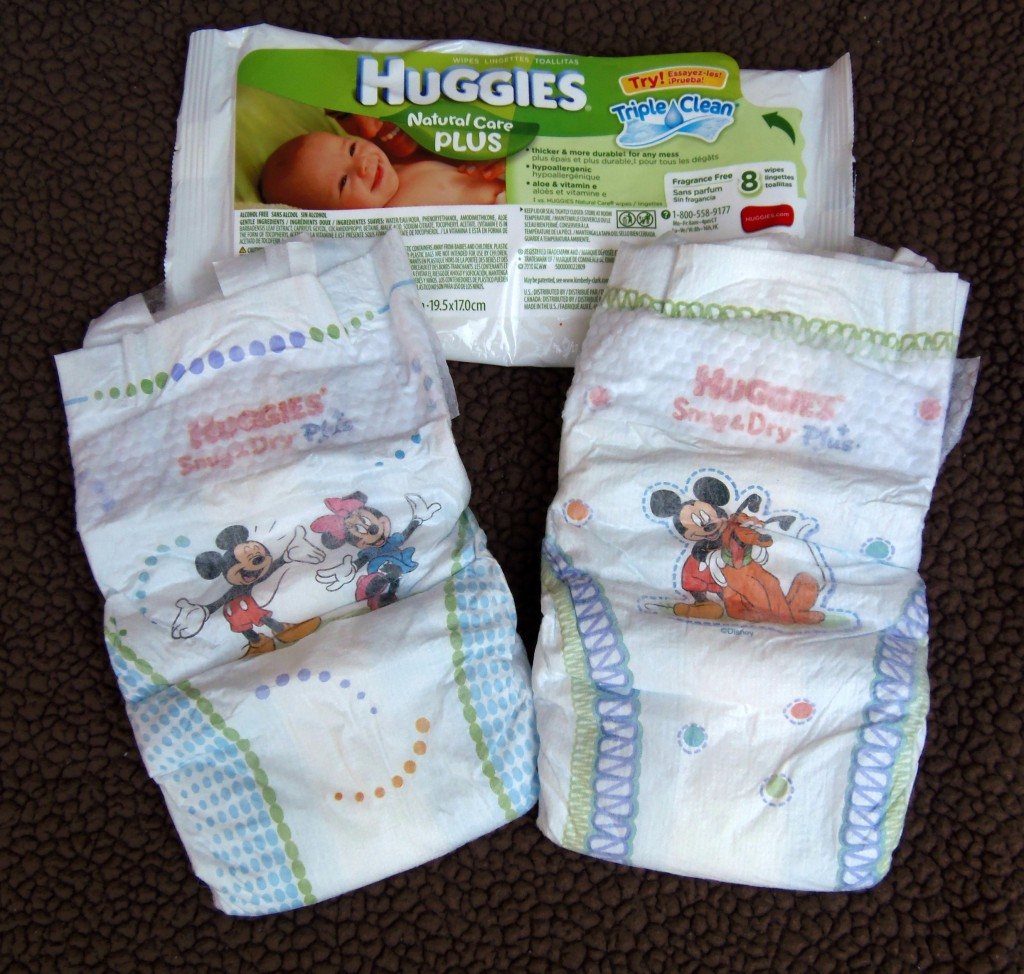 Costco Huggies sample