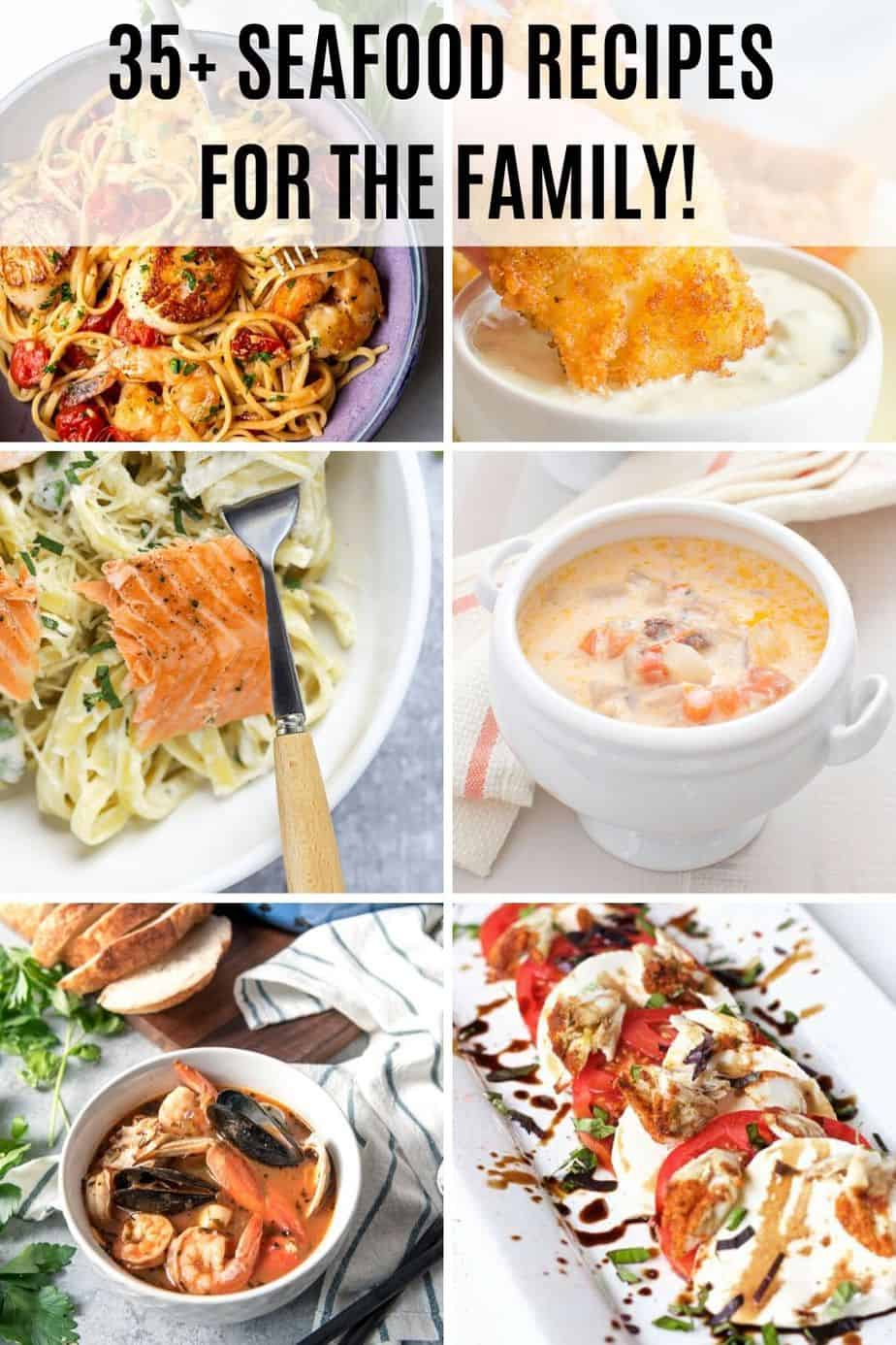 35+ impressive seafood recipes for the family