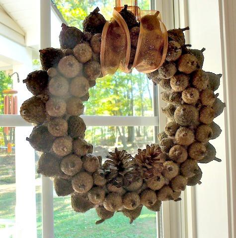 Acorn-Wreath-Closeup