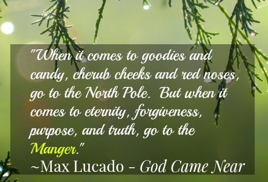 "Max Lucado ""God Came Near"" Advent DVD"