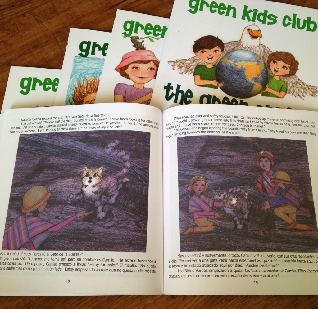Green Kids Club books