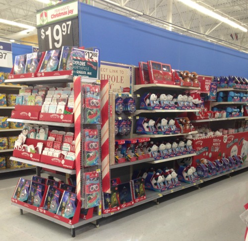 Northpole toys at Walmart