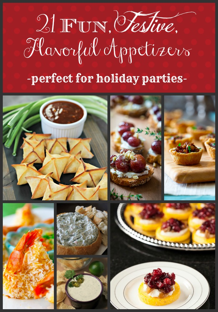 Fun, Festive, Flavorful Appetizers