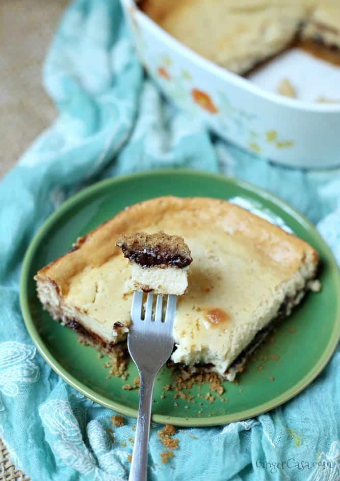 Banana Chocolate Chip Cheesecake Bars Recipe