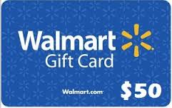 $50 Walmart gift card giveaway