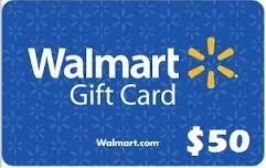 $50 Walmart gift card giveaway