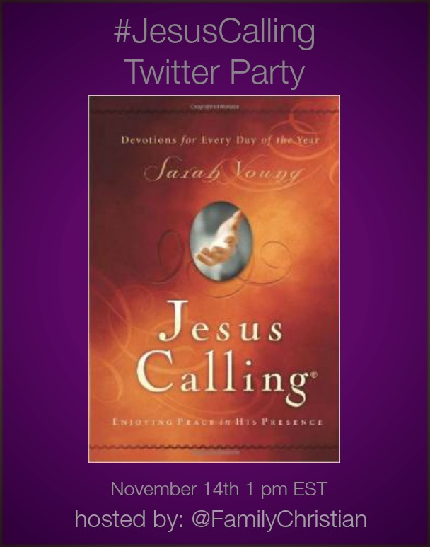 #JesusCalling Twitter Party
