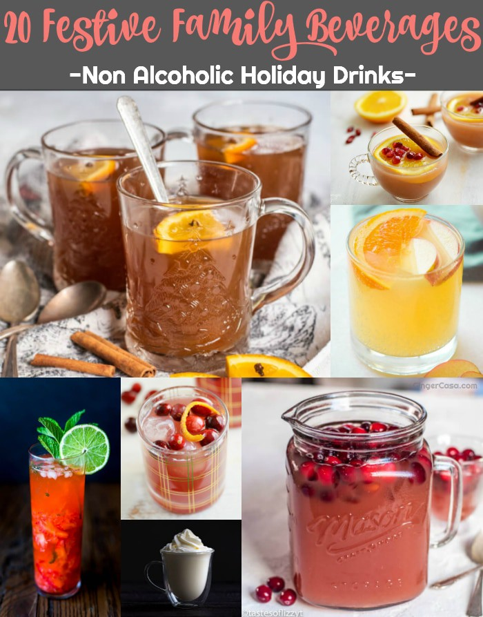 20 Festive Family Beverages – Non Alcoholic Holiday Drinks