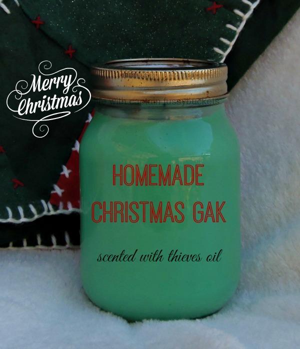 Homemade Christmas Gak