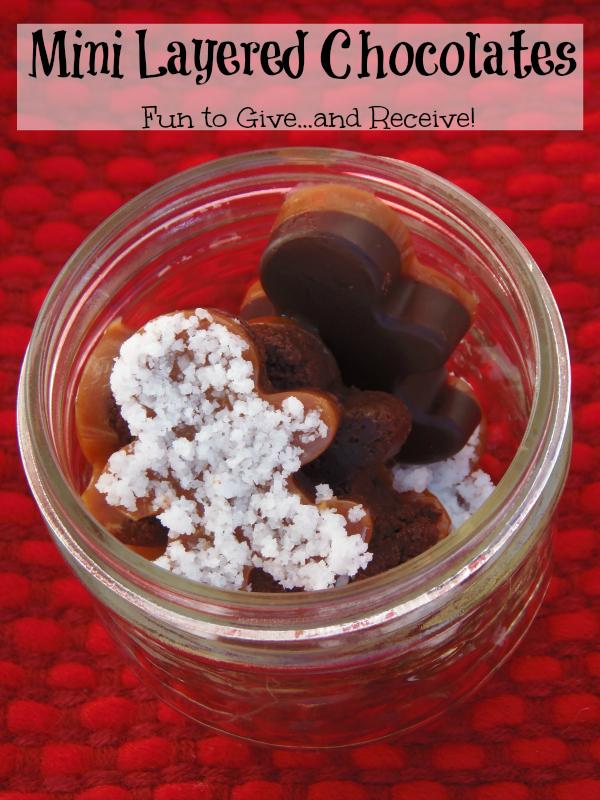 Mini Layered Chocolates #TasteTheSeason #CollectiveBias #ad