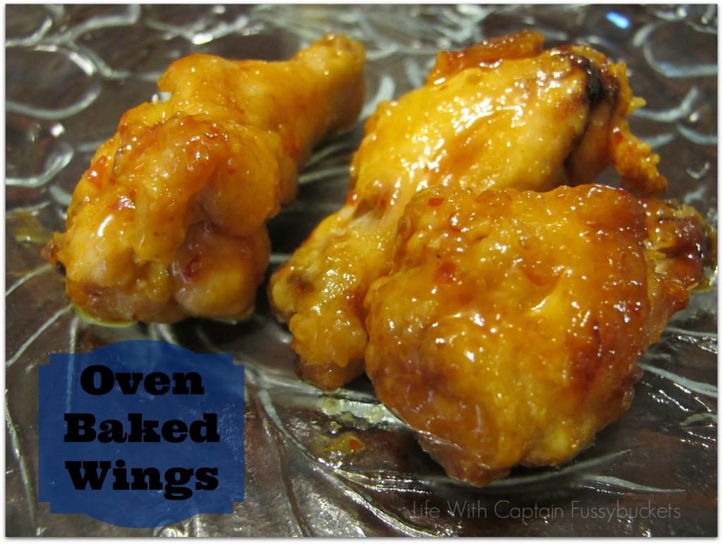 Oven Baked Hot Wings