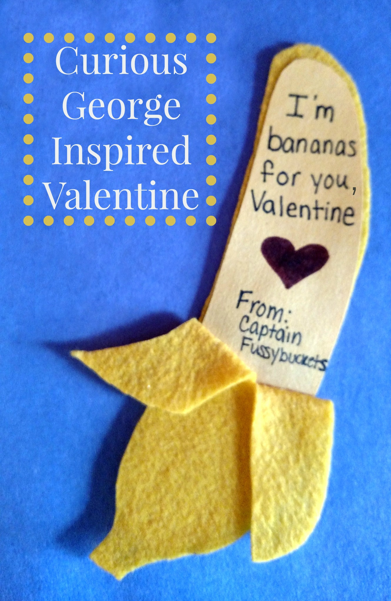Happy Valentines Curious George Valentine Craft For Kids