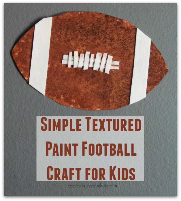 Simple Textured Craft for Kids