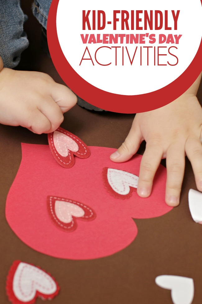 Kid Friendly Valentine's Day Activities