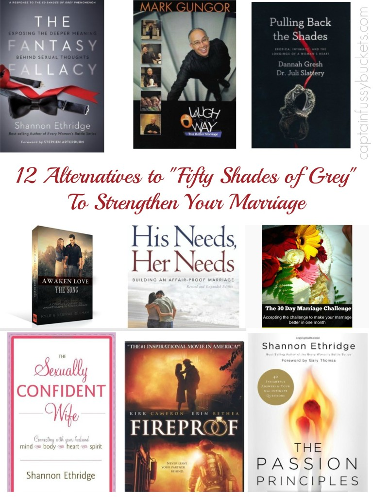 12 Fifty Shades of Grey Alternatives To Strengthen Your Marriage