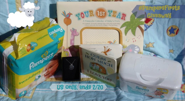 #PampersFirsts giveaway