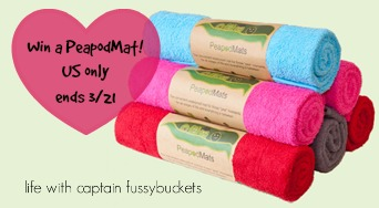 PeapodMats for Bedwetting giveaway