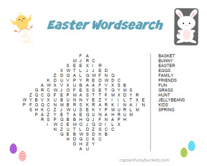 Easterwordsearch