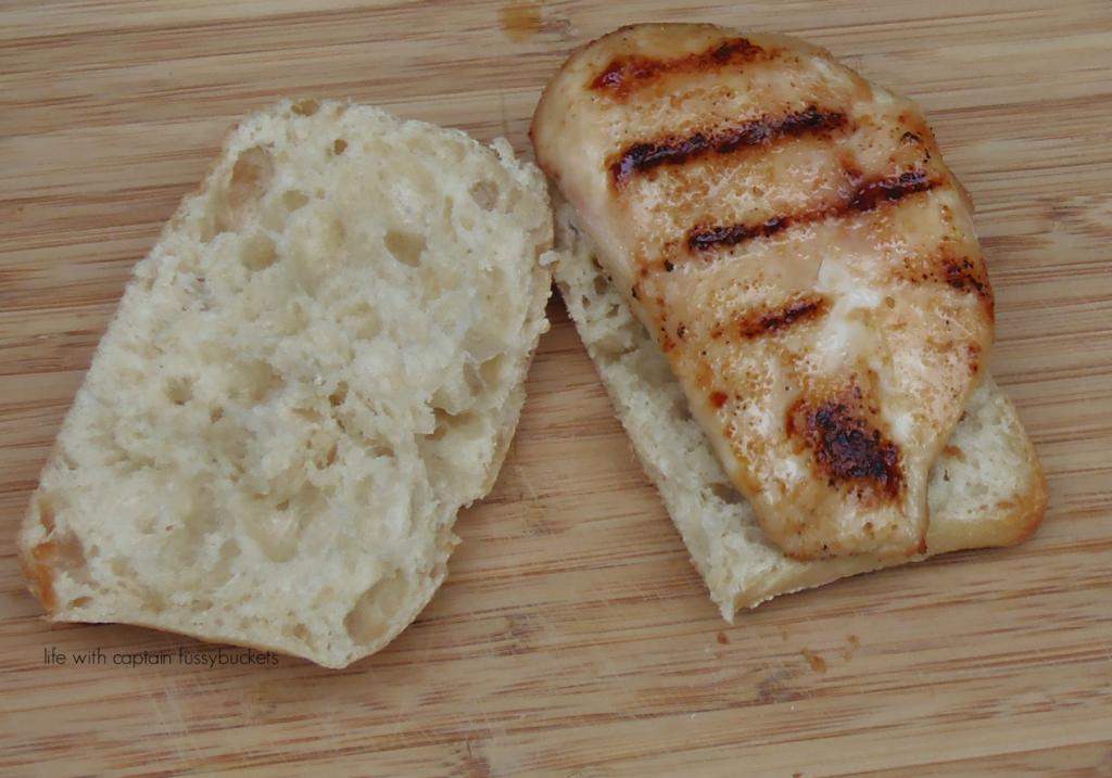 Grilled Chicken Alfredo Sandwich