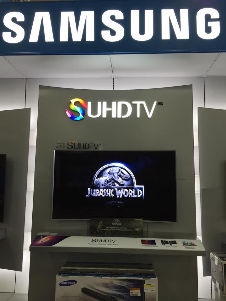 Samsung HD TV at Best Buy