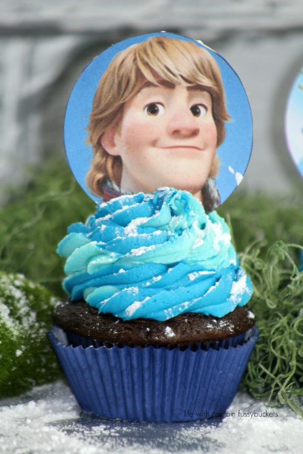 Kristoff Cupcakes