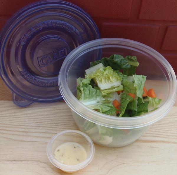 Glad Salad To Go #FoodFairyTale #SundaySuppers