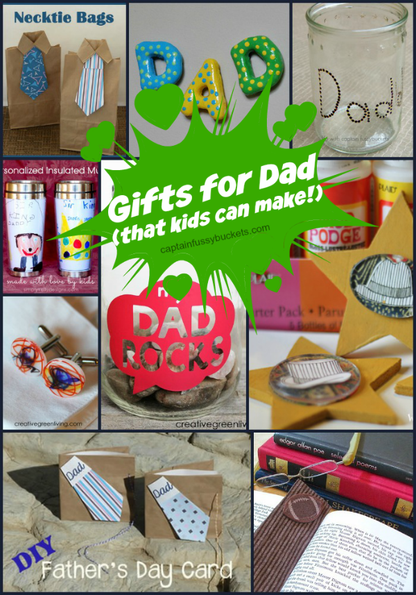 Gifts For Dad That Kids Can Make