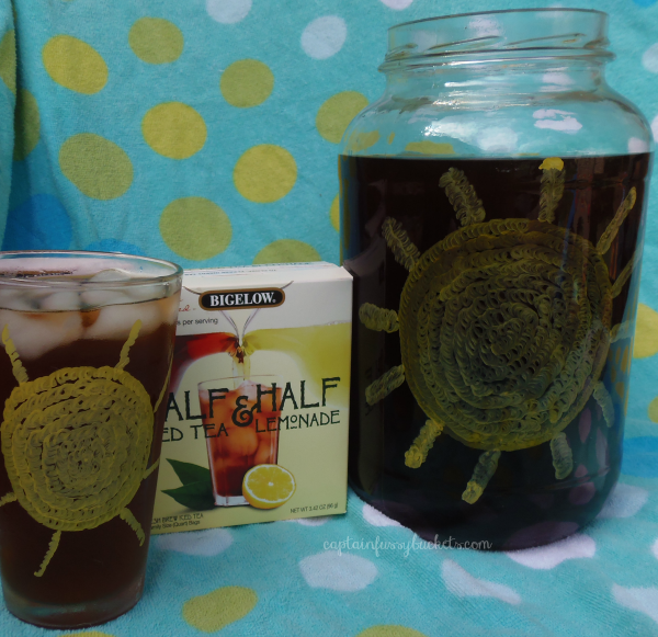DIY Iced Tea Glass